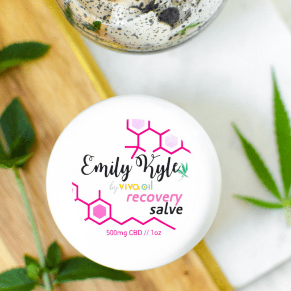 500mg Full-Spectrum CBD Recovery Salve